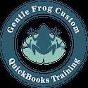 Gentle Frog Custom QuickBooks Training Logo