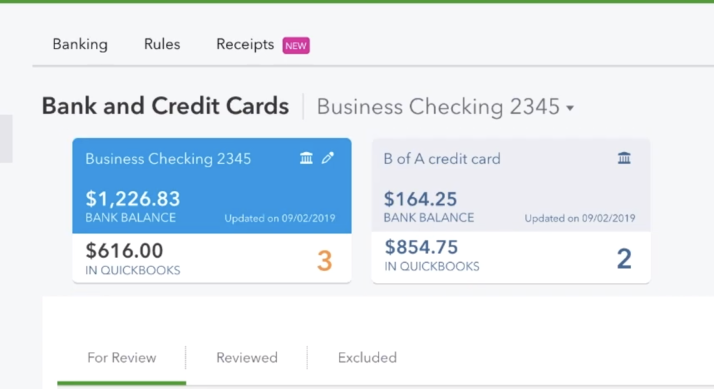 Bank and Credit Cards   Business Checking
