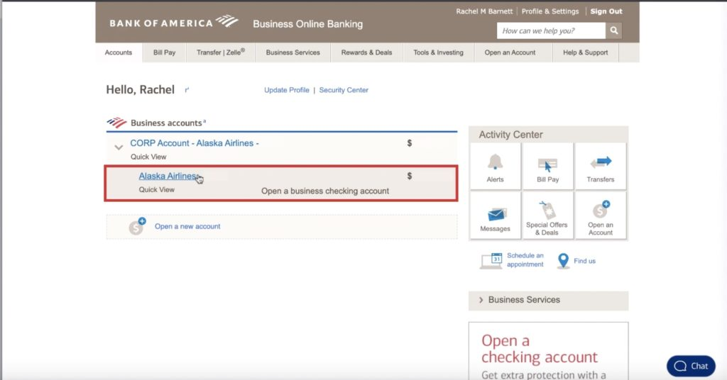 Downloading bank transactions in Quickbooks