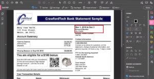 Editing PDF text in Acrobat Pro DC