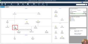 Create Invoice icon on homepage of QuickBooks Desktop