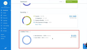 Viewing unbilled time in Freshbooks