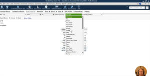Select month-over-month view in Profit & Loss report in QuickBooks Desktop